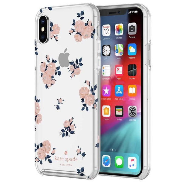Clear Flower case for iPhone Xs & iPhone X with free shipping & australia stock