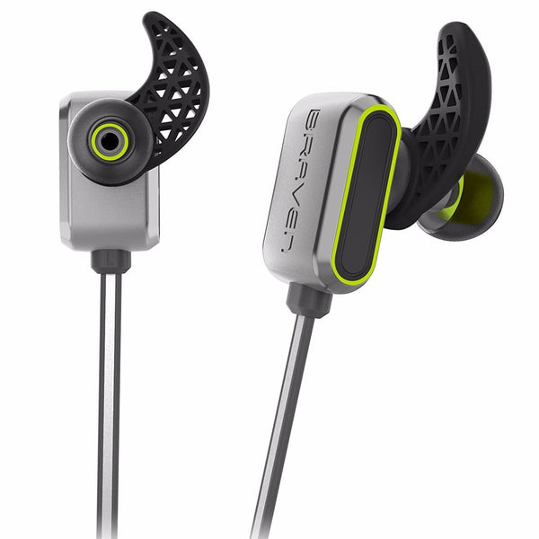 place to buy BRAVEN FLYE SPORT REFLECT WIRELESS WATER-RESISTANT EARBUDS - SILVER/GREEN australia