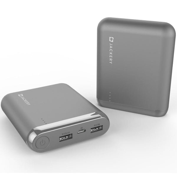buy grey power bank for all smartphone from jackery australia. buy online and get free shipping