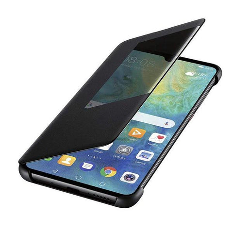 folio case for huawei mate 20. black color from huawei