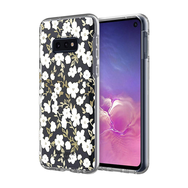 Shop Australia stock KATE SPADE NEW YORK GIFT SET PROTECTIVE CASE & RING STAND FOR GALAXY S10E (5.8-INCH) - FLORAL/GOLD/CLEAR with free shipping online. Shop Kate Spade New York collections with afterpay