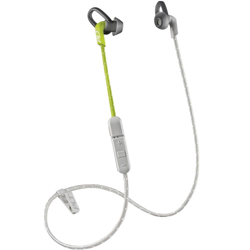 Free express shipping Australia wide for each purchases of Plantronics Backbeat Fit 305 Wireless Sweatproof Sport Earbuds - Lime/Gray from authorized distributor Syntricate.