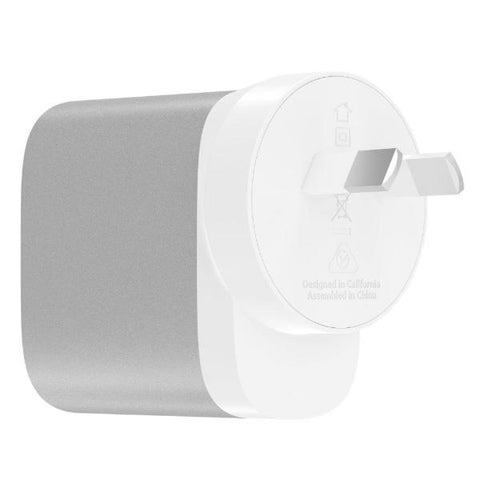 Place to buy BOOST CHARGE 27W USB-C WALL CHARGER- SILVER FROM BELKIN online in Australia free shipping & afterpay.