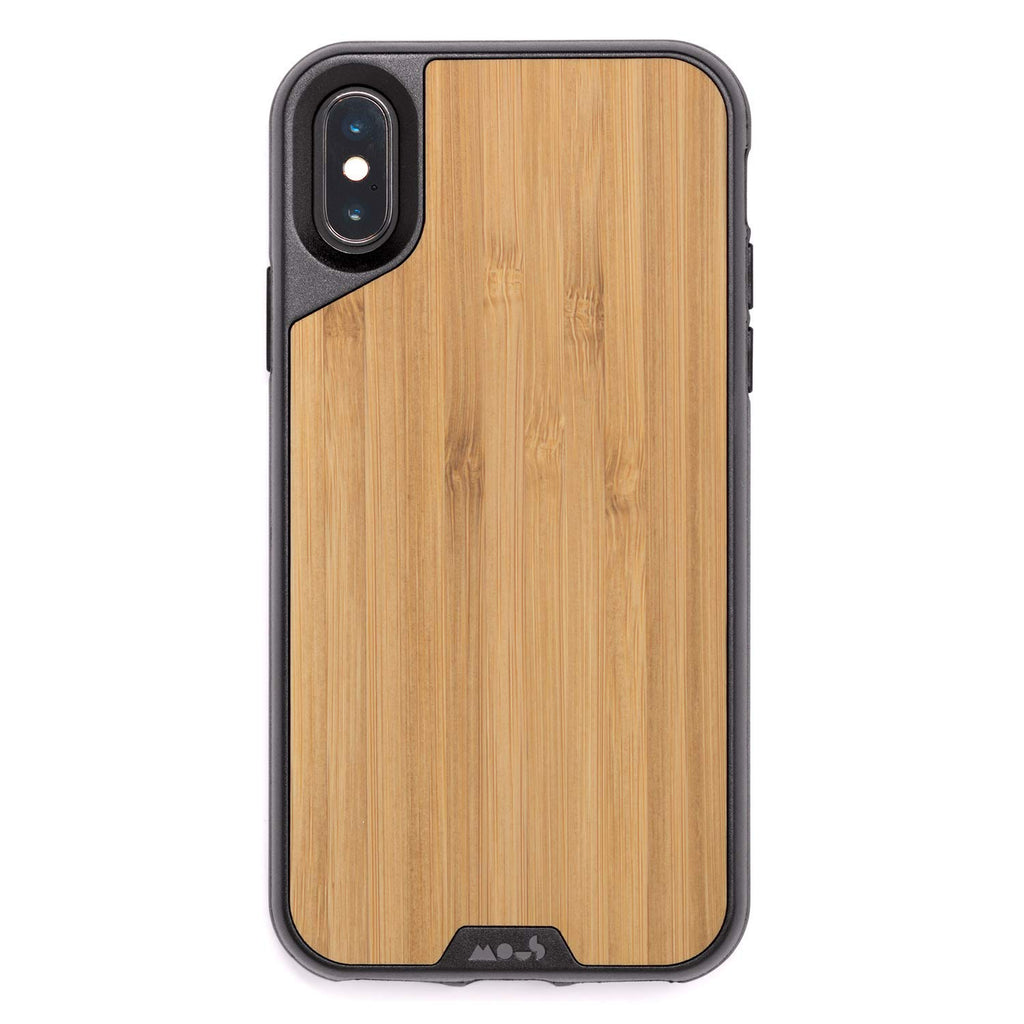 iPhone Xs & iPhone X Bamboo Wooden case from Mous with free shipping Australia Stock