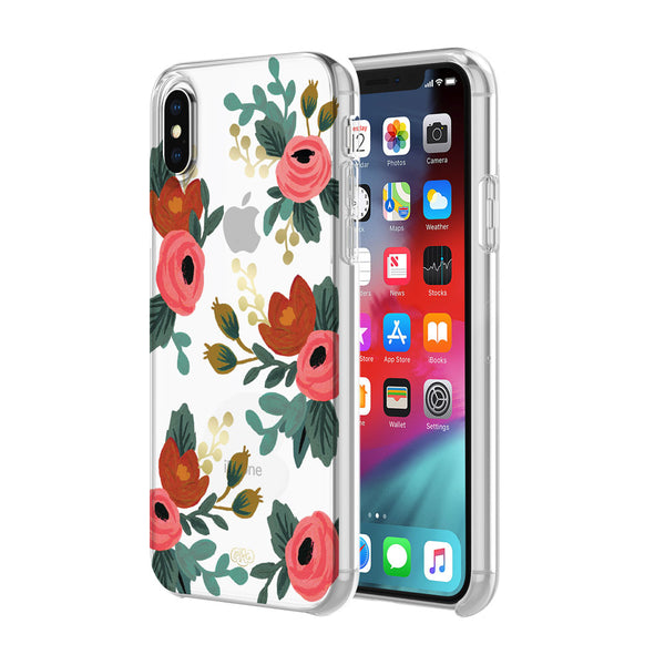 Shop Australia stock RIFLE PAPER CO. PROTECTIVE CASE FOR IPHONE XS MAX - ROSA GOLD FOIL/MULTI/CLEAR with free shipping online. Shop Rifle Paper Co. collections with afterpay