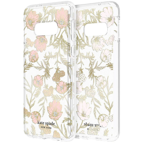 buy online flower clear case for samsung galaxy s10e