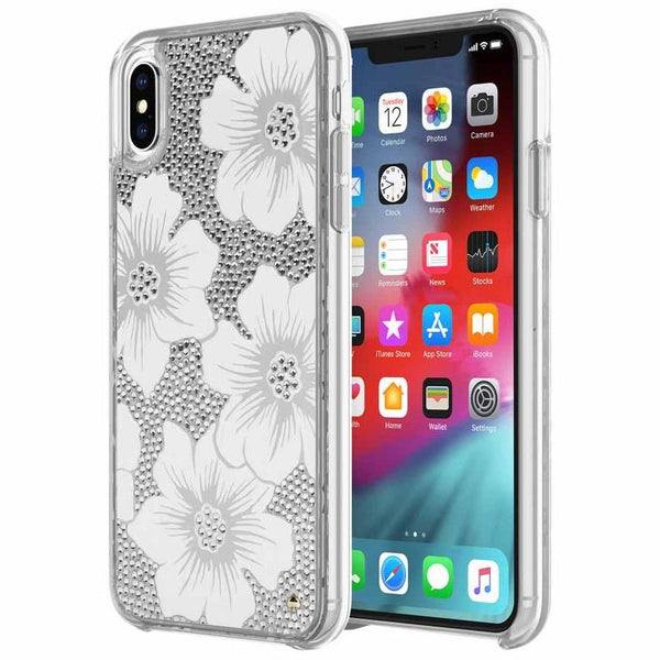 flower style pattern case for iPhone Xs & iPhone X from kate spade