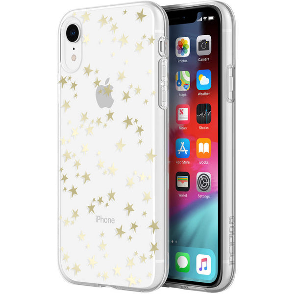 gold star pattern case for iphone xr from incipio australia