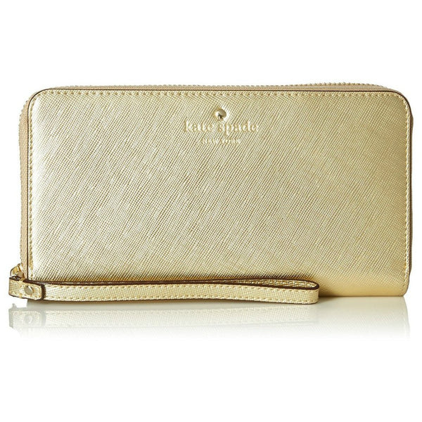 BUY cute clutch from Kate Spade Wristlet Zip Wallet Case for Most Smartphones - Saffiano Gold AUSTRALIA free shipping
