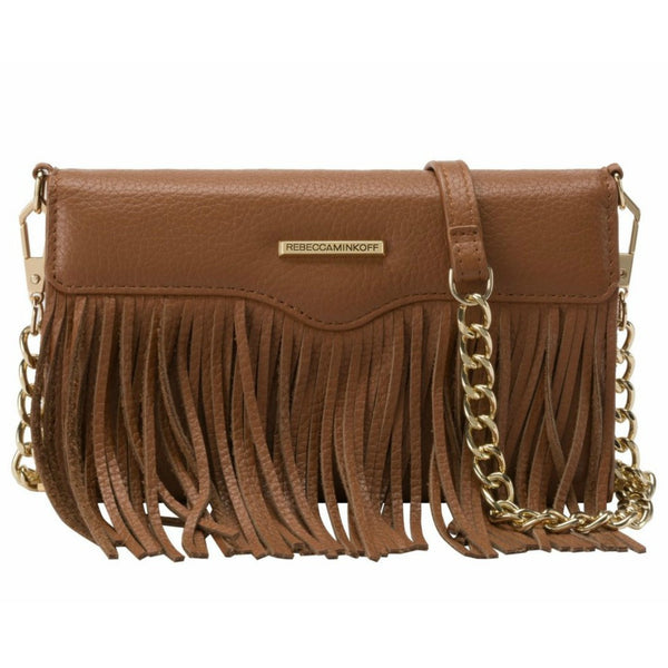 Shop Australia stock Rebecca Minkoff Universal Fringe Tech Leather Crossbody - Almond Pebble with free shipping online. Shop Rebecca Minkoff collections with afterpay