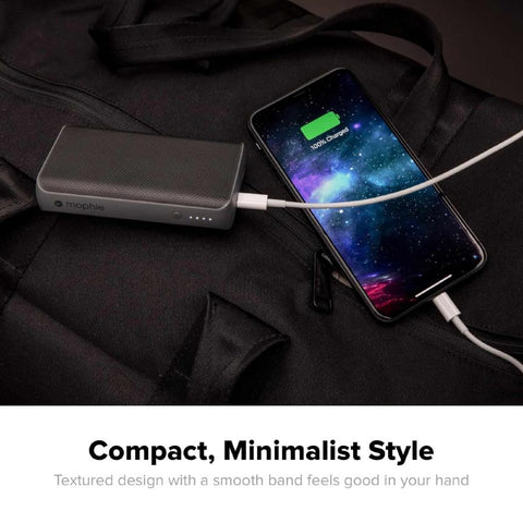 black power bank from mophie for all smartphone. buy online and get free shipping