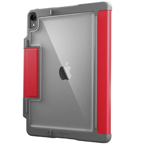 red folio case from stm for ipad pro 11 2018
