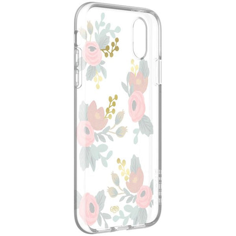 Grab it fast while stock last PROTECTIVE CASE FOR IPHONE XR - ROSA GOLD FOIL/MULTI/CLEAR from RIFLE PAPER CO. with free shipping Australia wide.