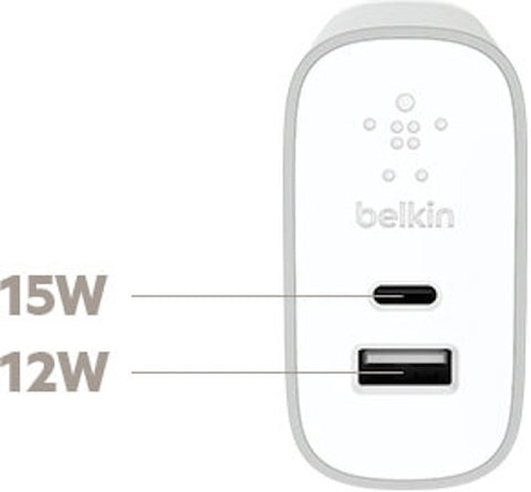 Shop Australia stock BELKIN HOME WALL CHARGER WITH USB-C & USB-A PORTS - SILVER with free shipping online. Shop Belkin collections with afterpay