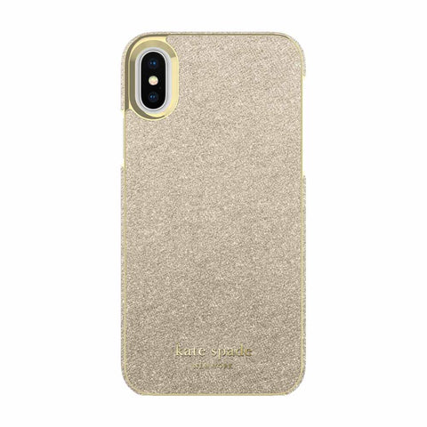 back view iphone xs iphone x case glitter designer case from kate spade