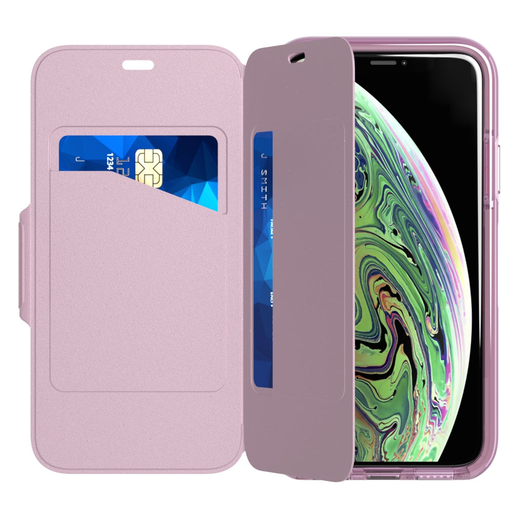 place to buy online pink folio case for iphone x/xs australia Australia Stock