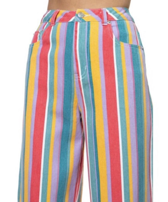 Imagination Striped Pants