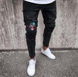 Embroidered Slim