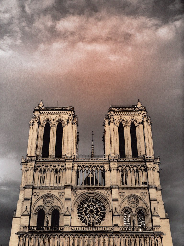 Notre-Dame de Paris, France - Travel wall art prints by Edwin Datoc Gallery