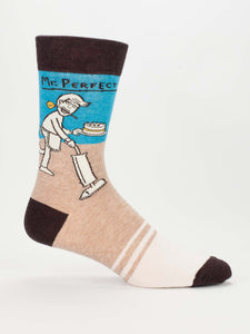 BlueQ-MR PERFECT Men's crew socks - Gizmo Gifts