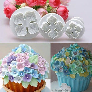 3pcs Cake Decorating Plunger