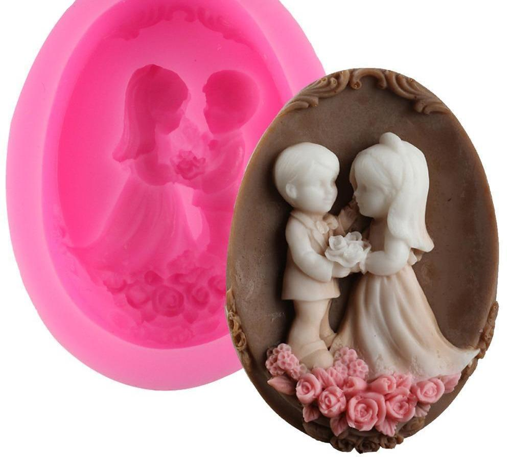 Wedding Chocolate Silicone Mold