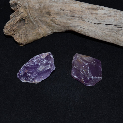Amethyst Rough Chunks Small Medium Each (CU-5631-5A)