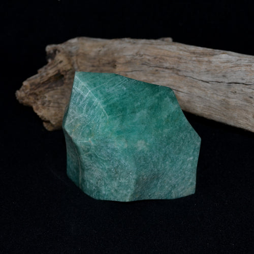Amazonite Large Polished Flame Freeform (T21-18A)