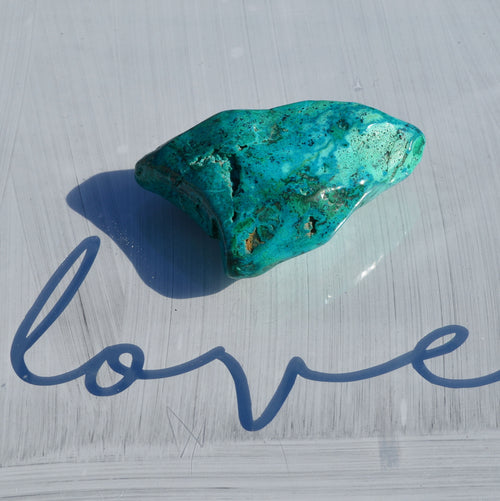 Chrysocolla Malachite Polished Freeform (T69-13E)
