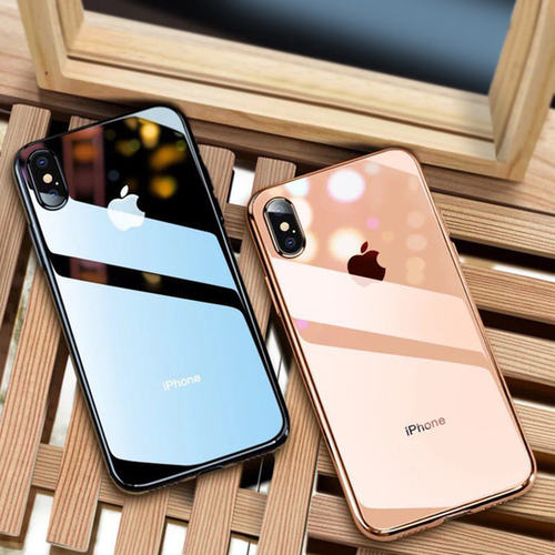 Phone Case - Luxury Clear Slim Soft Silicone Case For iphone XS XR