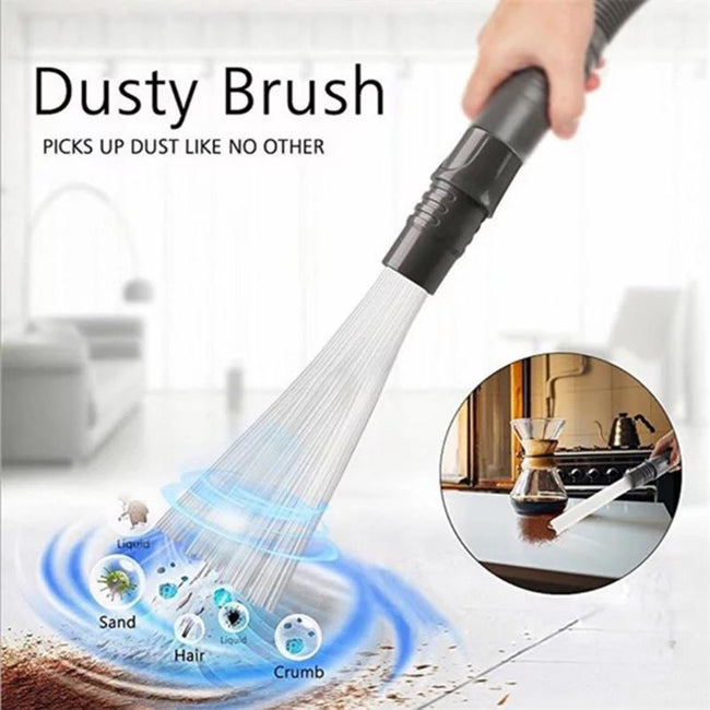 Cleaner Tool - Universal Vacuum Dust  Small Suction Brush Tubes Cleaner Remover Tool