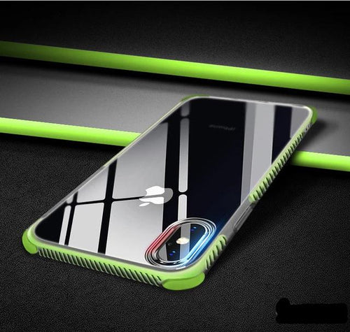 iPhone Case - Luxury Shockproof Clear Armor Phone Case