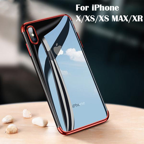 iPhone Case - Ultra Thin Plating Case For iPhone X/XS MAX/XR