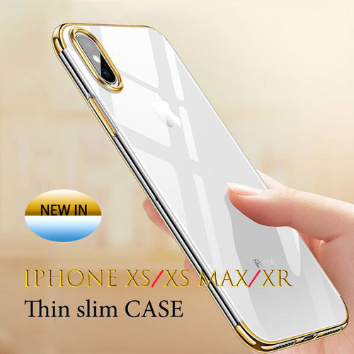 iPhone Case - Luxury Crystal Clear Cases For iPhone XS MAX/ XR