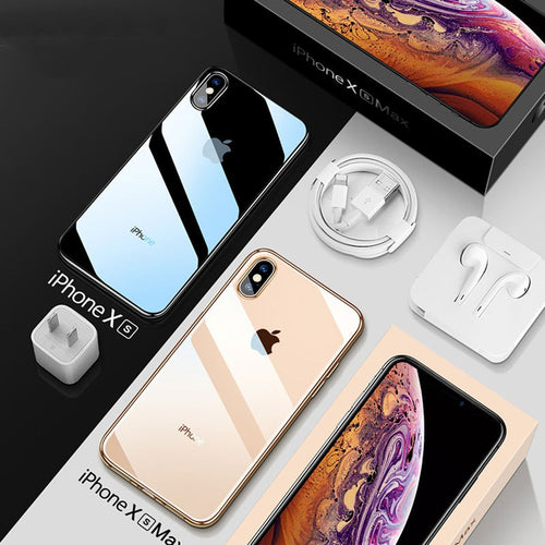 iPhone Case - Ultra Thin Transparent Phone Case For iPhone XS MAX XR X 8 7 6 6s Plus