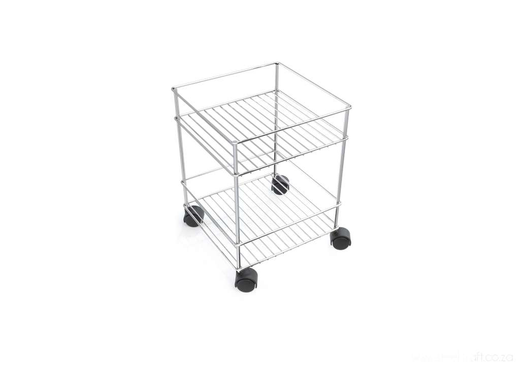 Bathroom Trolley 2-Tier, Bathroom Trolley 2-Tier, Bathroom Ware, Steelcraft, steelcraft.co.za , www.steelcraft.co.za