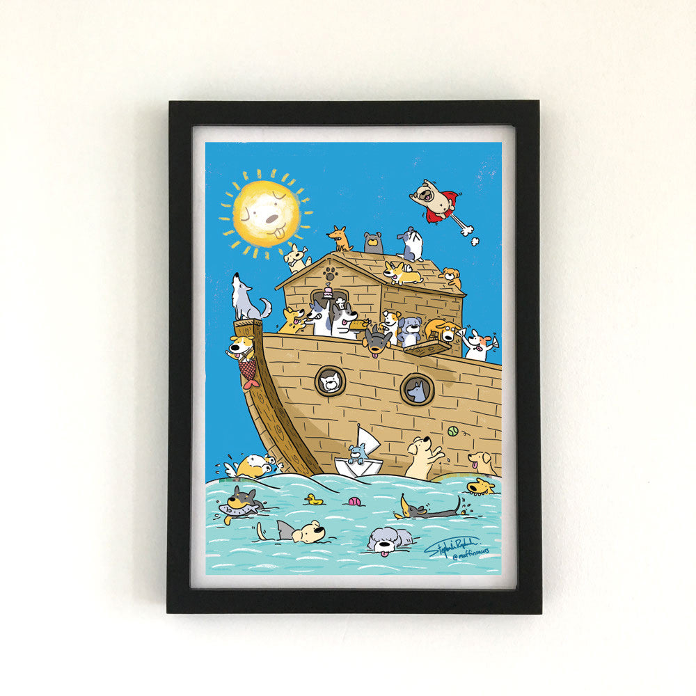 Dog Ark - Art Print