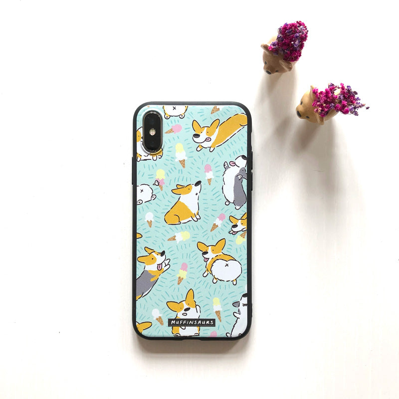 Ice Cream & Corgis Iphone X Case