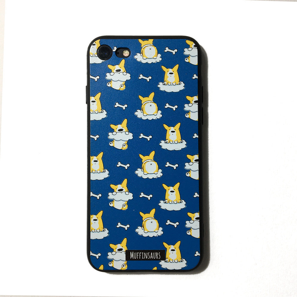 Corgis on Cloud 9 Iphone 7/8/7+/8+/6/6S Case