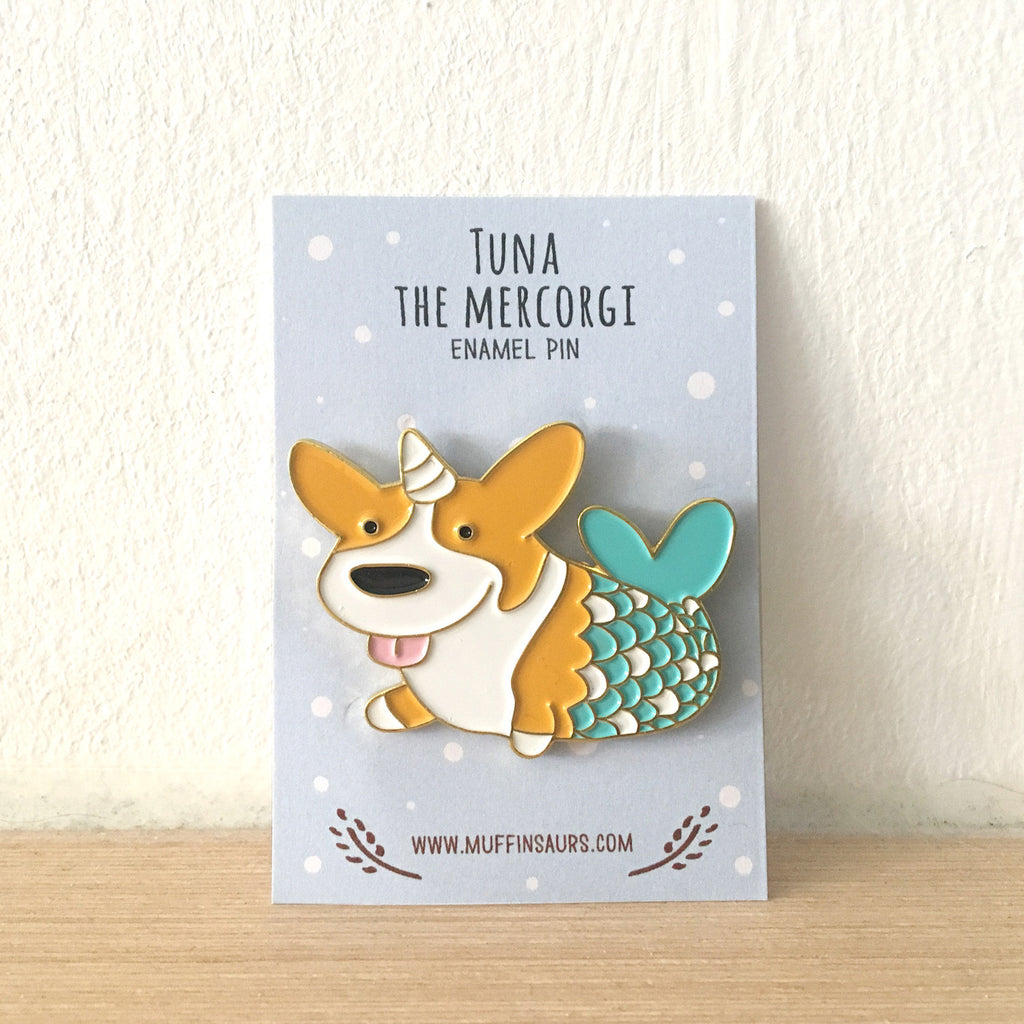 Tuna the Mercorgi Pin