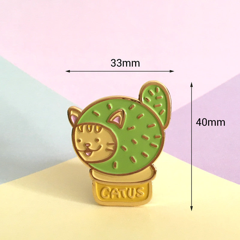 Pokie the Catus Pin