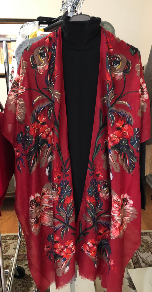 Floral Duster: One Size