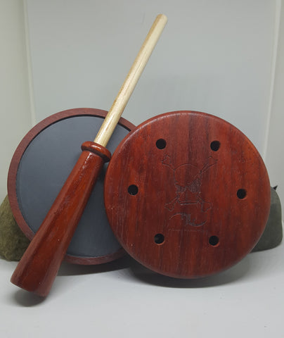 Padauk Turkey Pot with Padauk/Hickory Striker