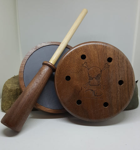 Walnut Turkey Pot with Walnut/Hickory Stricker