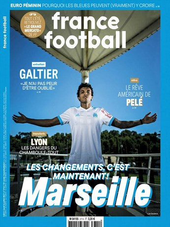 Why Always Me featured in France Football Magazine