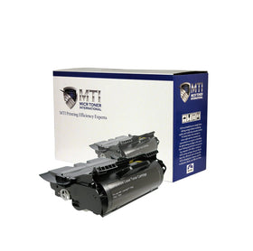 MICR Toner International Compatible MICR High Yield Toner Cartridge Replacement for Lexmark 64015HA T640, 640, 642, 644