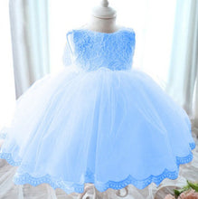 Bow Floral Tulle Dress