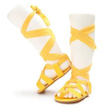 Roman PU leather Gladiator Sandals