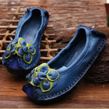 Folk Style Leather Shoes