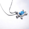 Baby Sea Turtle Opal Necklace